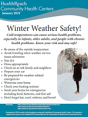Winter Weather Tips