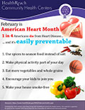 February is Healthy Hearts Month